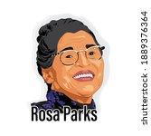 19 july  india  rosa park face...   Shutterstock .eps vector #1889376364