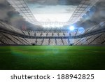 large football stadium with... | Shutterstock . vector #188942825