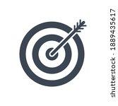 keyword targeting related glyph ... | Shutterstock . vector #1889435617