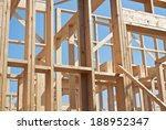 new construction of house ... | Shutterstock . vector #188952347