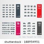 car    auto   transport   car   ... | Shutterstock .eps vector #188954951