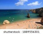 Portugal Landscape In Algarve...