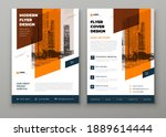 flyer template layout design.... | Shutterstock .eps vector #1889614444