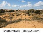 The nature resave sand park, Ashdod, Israel