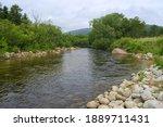 Taiga River Valley. Pacific...