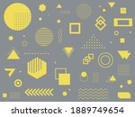gray abstract background with... | Shutterstock .eps vector #1889749654