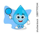 Cute Cartoon Water Droplet...