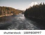 Swirling Waters Of Yellowstone...