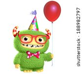 3d cartoon monster | Shutterstock . vector #188982797