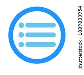 item rounded icon. vector...