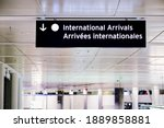 International Arrivals Sign...