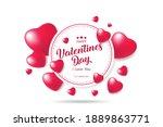 festive card for happy... | Shutterstock .eps vector #1889863771