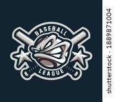 baseball mascot design for... | Shutterstock .eps vector #1889871004