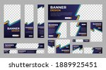 abstract banner design web... | Shutterstock .eps vector #1889925451