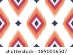 geometric ethnic oriental... | Shutterstock .eps vector #1890016507