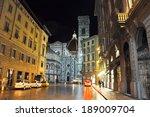 florence november 10  via degli ...   Shutterstock . vector #189009704