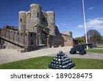 A Landscape View Of Rye Castle...