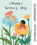 international women s day.... | Shutterstock .eps vector #1890308224