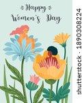 international women s day.... | Shutterstock .eps vector #1890308224