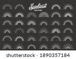 vintage grunge sunburst...   Shutterstock .eps vector #1890357184