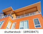 upper storey detail of timber... | Shutterstock . vector #189038471
