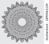 mandalas for coloring book....   Shutterstock .eps vector #1890461134