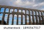 Roman Aqueduct In Segovia ...