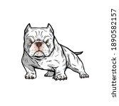 Bully Americanbully Logo Dog...