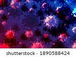 coronavirus mutation abstract...   Shutterstock .eps vector #1890588424