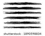 automobile tire tracks vector... | Shutterstock . vector #1890598834