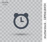 alarm icon. vector illustration ...