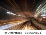Motion Blur Train Road...