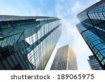 corporate buildings  | Shutterstock . vector #189065975