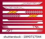 vector sports stripes for the... | Shutterstock .eps vector #1890717544