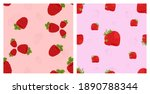 Berry Set. Seamless Vector...