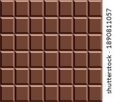 chocolate pattern background... | Shutterstock .eps vector #1890811057