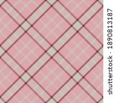 seamless pattern of scottish... | Shutterstock .eps vector #1890813187