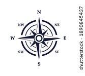 compass vector icon. navigation ...   Shutterstock .eps vector #1890845437