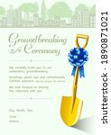 cordially invitation for...   Shutterstock .eps vector #1890871021