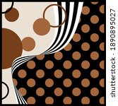 Abstract Vector Pattern With...