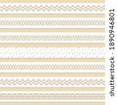 set of seven pastel patterned... | Shutterstock .eps vector #1890946801