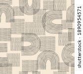 vector contemporary seamless... | Shutterstock .eps vector #1890954571