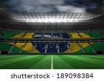 digitally generated brazilian... | Shutterstock . vector #189098384