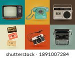 Retro electronics set....