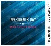 usa presidents day celebrate...   Shutterstock .eps vector #1891029847