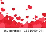 happy valentine's days of... | Shutterstock .eps vector #1891040404