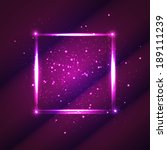 light purple square for your... | Shutterstock .eps vector #189111239