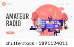 Tiny Characters Radio Amateurs...