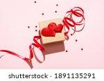 valentines day festive card...   Shutterstock . vector #1891135291