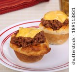 Two Biscuits With Sloppy Joe...